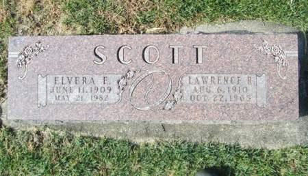 SCOTT, ELVERA E. - Franklin County, Iowa   ELVERA E. SCOTT