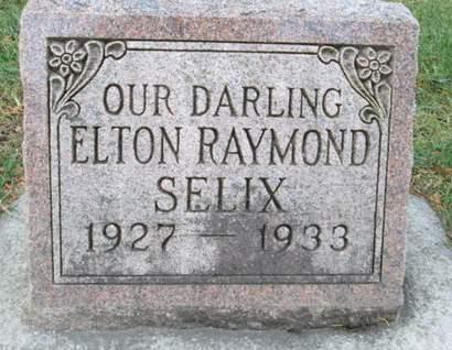 SELIX, ELTON RAYMOND - Franklin County, Iowa   ELTON RAYMOND SELIX