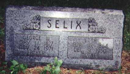 SELIX, GEORGE W. - Franklin County, Iowa | GEORGE W. SELIX