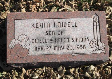 SIMONS, KEVIN LOWELL - Franklin County, Iowa | KEVIN LOWELL SIMONS