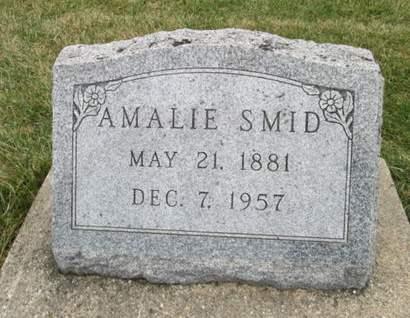SMID, AMALIE - Franklin County, Iowa | AMALIE SMID