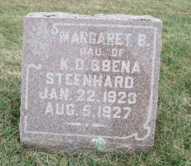 STEENHARD, MARGARET B. - Franklin County, Iowa | MARGARET B. STEENHARD