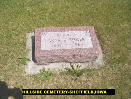 STOVER, ANNA - Franklin County, Iowa | ANNA STOVER