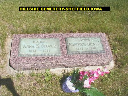 STOVER, FRED, SR. - Franklin County, Iowa | FRED, SR. STOVER