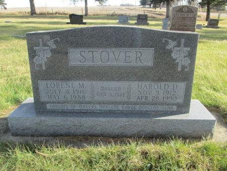 STOVER, HAROLD D. - Franklin County, Iowa | HAROLD D. STOVER