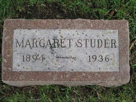 STUDER, MARGARET - Franklin County, Iowa | MARGARET STUDER