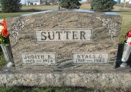 SUTTER, JUDITH R. - Franklin County, Iowa   JUDITH R. SUTTER
