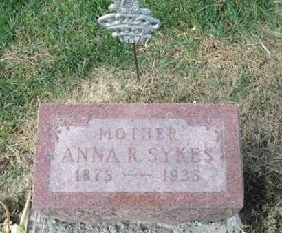 SYKES, ANNA R. - Franklin County, Iowa   ANNA R. SYKES