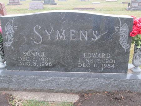 SYMENS, EDWARD - Franklin County, Iowa | EDWARD SYMENS