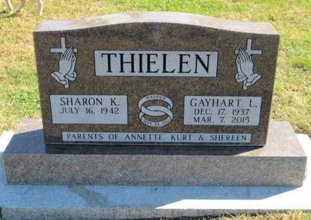 THIELEN, GAYHART L. - Franklin County, Iowa | GAYHART L. THIELEN