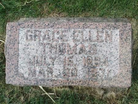 THOMAS, GRACE ELLEN - Franklin County, Iowa | GRACE ELLEN THOMAS