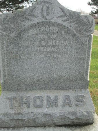 THOMAS, RAYMOND L. - Franklin County, Iowa   RAYMOND L. THOMAS