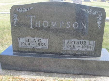 THOMPSON, ELLA G. - Franklin County, Iowa | ELLA G. THOMPSON