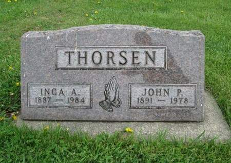 THORSEN, JOHN P. - Franklin County, Iowa   JOHN P. THORSEN