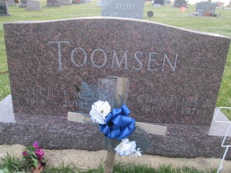 TOOMSEN, CORNELIUS J. - Franklin County, Iowa | CORNELIUS J. TOOMSEN