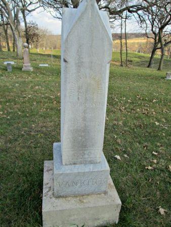VANKIRK, WILLIAM - Franklin County, Iowa   WILLIAM VANKIRK