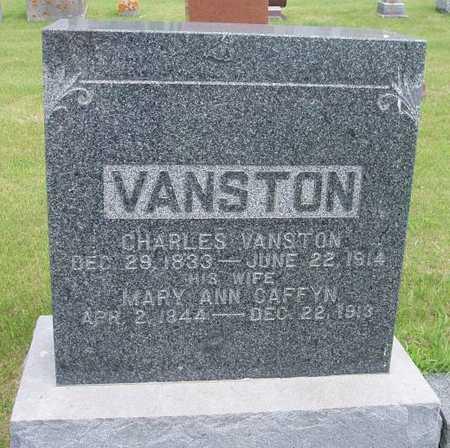 VANSTON, MARY ANN - Franklin County, Iowa | MARY ANN VANSTON