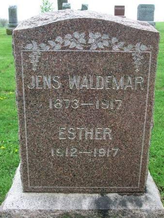 WALDEMAR, JENS - Franklin County, Iowa   JENS WALDEMAR