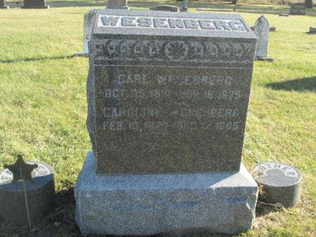 WESENBERG, CAROLINE - Franklin County, Iowa | CAROLINE WESENBERG