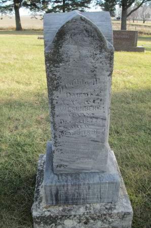 WESENBERG, MATILDA M. - Franklin County, Iowa | MATILDA M. WESENBERG