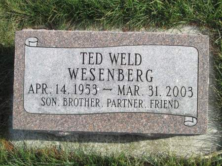 WESENBERG, TED WELD - Franklin County, Iowa | TED WELD WESENBERG