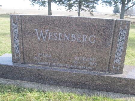WESENBERG, RICHARD - Franklin County, Iowa | RICHARD WESENBERG