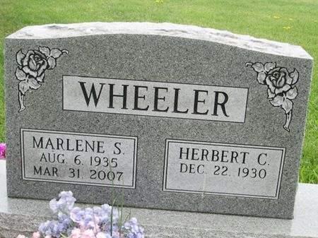 WHEELER, MARLENE S. - Franklin County, Iowa   MARLENE S. WHEELER