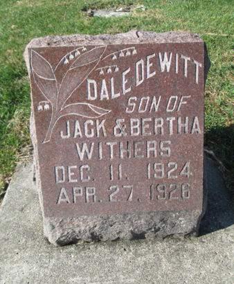 WITHERS, DALE DEWITT - Franklin County, Iowa | DALE DEWITT WITHERS