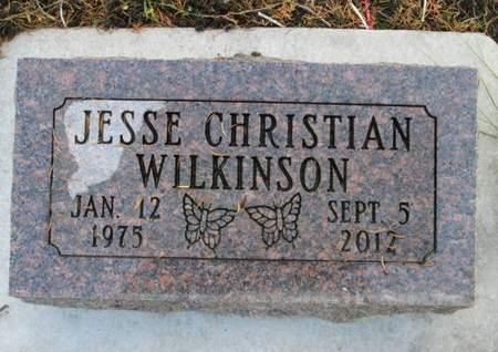 WILKINSON, JESSE CHRISTIAN - Franklin County, Iowa   JESSE CHRISTIAN WILKINSON