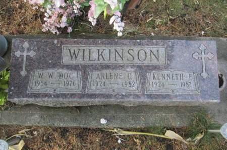 WILKINSON, W. W.