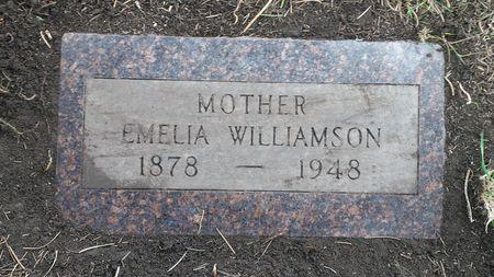 WILLIAMSON, EMELIA - Franklin County, Iowa | EMELIA WILLIAMSON