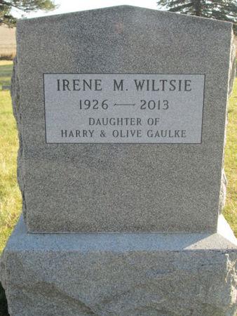 GAULKE WILTSIE, IRENE M. - Franklin County, Iowa | IRENE M. GAULKE WILTSIE
