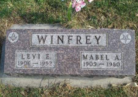 WINFREY, MABEL A. - Franklin County, Iowa | MABEL A. WINFREY