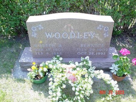 TRINDLE WOODLEY, BERNICE - Franklin County, Iowa | BERNICE TRINDLE WOODLEY
