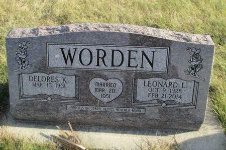 WORDEN, LEONARD L. - Franklin County, Iowa   LEONARD L. WORDEN