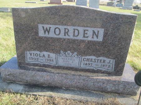 WORDEN, VIOLA E. - Franklin County, Iowa | VIOLA E. WORDEN