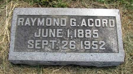 ACORD, RAYMOND - Fremont County, Iowa | RAYMOND ACORD