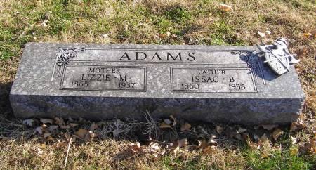 ADAMS, ISAAC B - Fremont County, Iowa   ISAAC B ADAMS