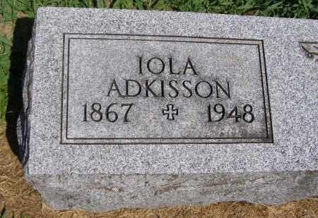 ADKISSON, IOLA - Fremont County, Iowa | IOLA ADKISSON