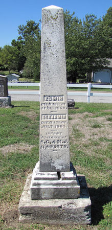 ALSWORTH, BENJAMIN - Fremont County, Iowa | BENJAMIN ALSWORTH