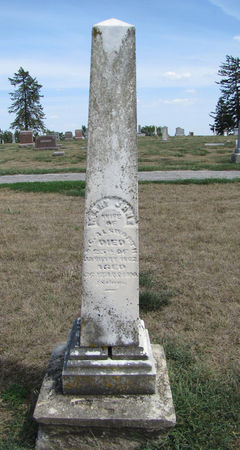 MANN ALSWORTH, MARY JANE - Fremont County, Iowa | MARY JANE MANN ALSWORTH