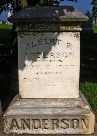 ANDERSON, ALBERT R - Fremont County, Iowa | ALBERT R ANDERSON