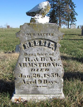 ARMSTRONG, NELLIE - Fremont County, Iowa | NELLIE ARMSTRONG