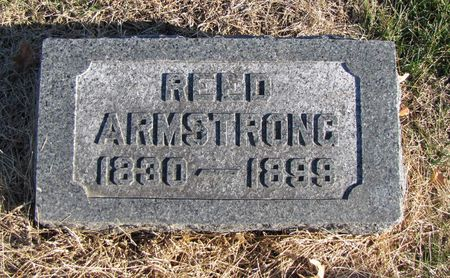 ARMSTRONG, REED - Fremont County, Iowa   REED ARMSTRONG