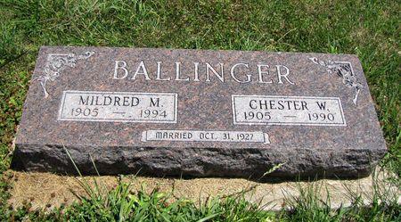 BALLINGER, MILDRED - Fremont County, Iowa | MILDRED BALLINGER