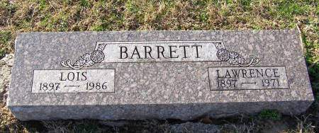 BARRETT, LAWRENCE - Fremont County, Iowa   LAWRENCE BARRETT