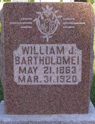 BARTHOLOME, WILLIAM J - Fremont County, Iowa | WILLIAM J BARTHOLOME