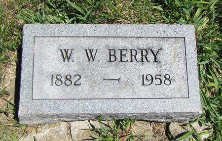 BERRY, WILLIAM - Fremont County, Iowa   WILLIAM BERRY