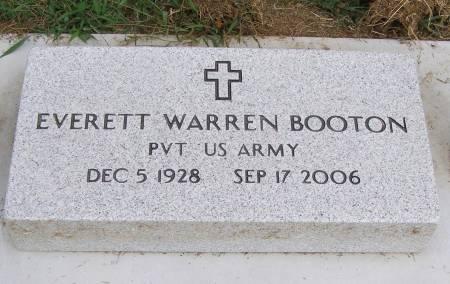 BOOTON, EVERETT WARREN - Fremont County, Iowa | EVERETT WARREN BOOTON