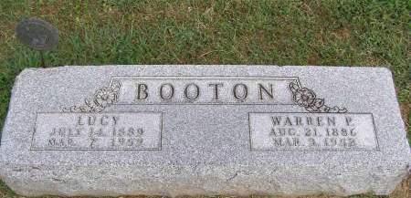 BOOTON, WARREN PURDUE - Fremont County, Iowa   WARREN PURDUE BOOTON